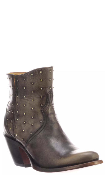 Lucchese HARLEY M6005 Womens Chocolate Calfskin Boots