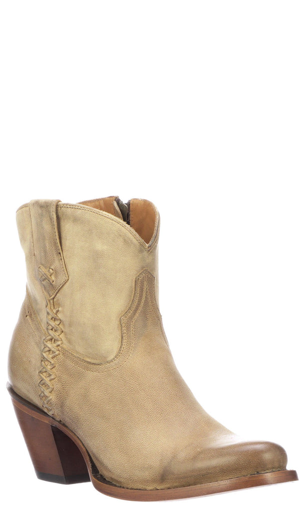 Lucchese AVERY M6006 Womens Pearl Bone Calfskin Boots