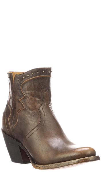 Lucchese KARLA M6010 Womens Maple Calfskin Boots