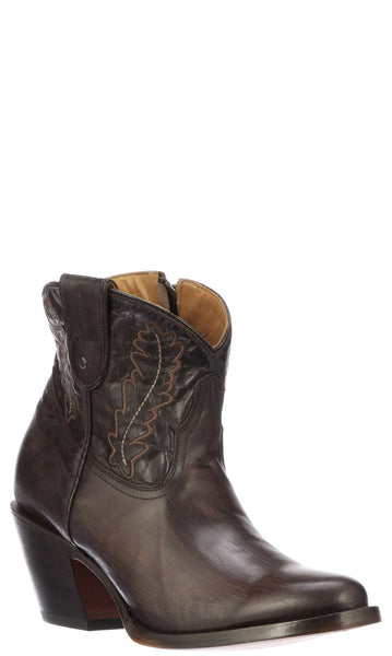 Lucchese WING M6018 Womens Tobacco Calfskin Boots