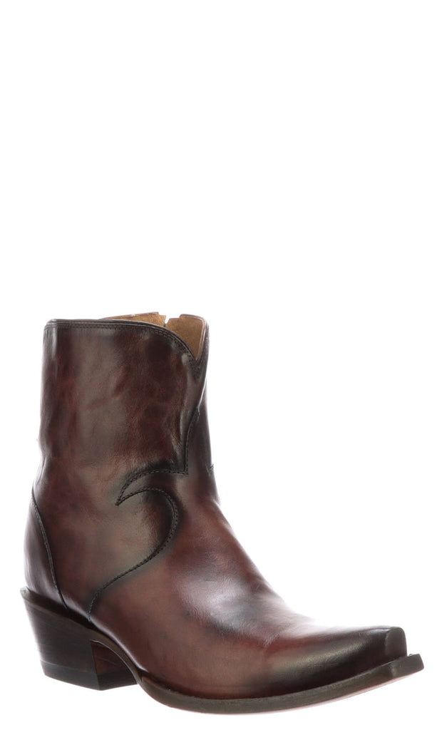Lucchese IDA M6034 Womens Whiskey Burnished Calfskin Boots