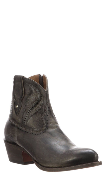 Lucchese SABINE M6038 Womens Anthracite Calfskin Boots