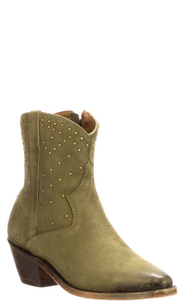 Lucchese AVIE STUD M6040 Womens Sage Suede Boots
