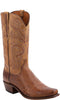 Lucchese N1160.74 NATHAN Mens Barnwood Burnished Smooth Ostrich Boots