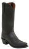 Lucchese N1597.74 Bart Mens Black Burnished Ranch Hand Boots
