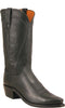 Lucchese N1597 Bart Mens Black Burnished Ranch Hand Boots