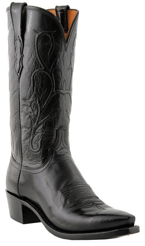 Lucchese N1652.54 Mens Black Buffalo Boots