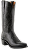 DISCONTINUED-Lucchese N1652 Mens Black Buffalo Boots