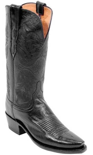 Lucchese N4501.54 Mens Black Buffalo Boots