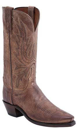 Lucchese N4540.54 Womens Tan Burnished Mad Dog Goat