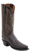 Lucchese N4554 Womens Chocolate Burnished Mad Dog Goat Boots