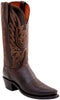 Lucchese N4554.74 Womens Chocolate Burnished Mad Dog Goat Boots