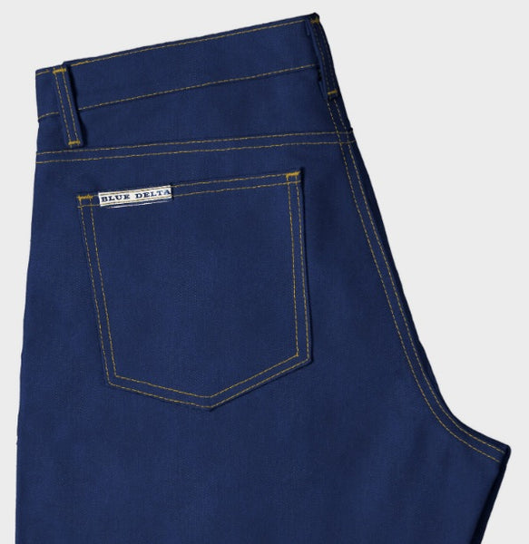 Blue Delta Custom Jeans - Women's - Postman Blue 8.5 oz. Raw Denim with stretch