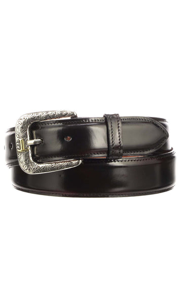 Lucchese W2211 Black Cherry Goat Mens Belt