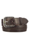 Lucchese W2251 Chocolate Mad Dog Goat Mens Belt