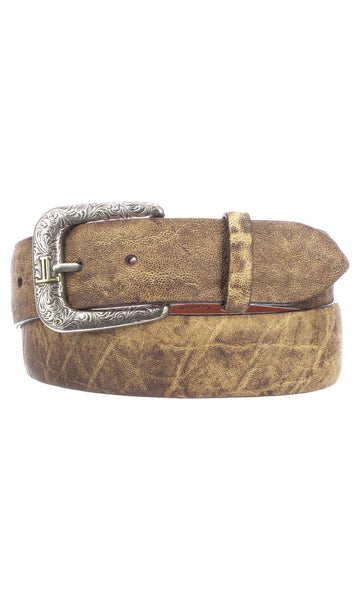 Lucchese W5061 Peat Elephant Mens Belt