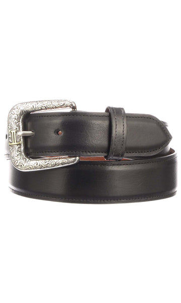Lucchese W5241 Black Baby Buffalo Mens Belt