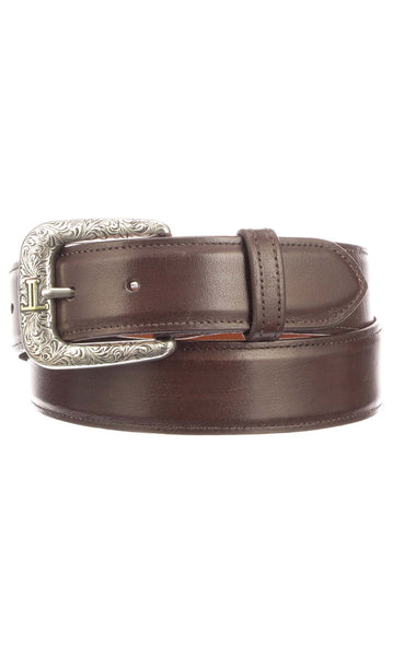 Lucchese W5251 Whiskey Burnished Baby Buffalo Mens Belt