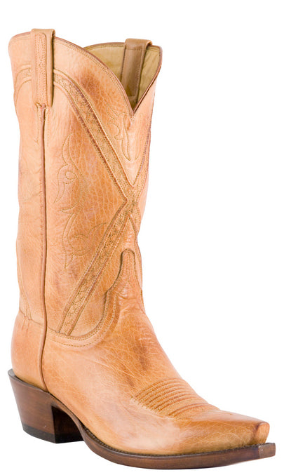 Lucchese Classics GD5011.K8 Mens Caramel Baby Buffalo Cowboy Boots Size 13 EEE STALL STOCK