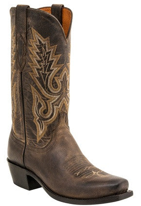 Lucchese M1001.74 Lewis Mens Anthracite Madras Goat Boots