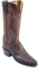 Lucchese N4554.54 Womens Chocolate Burnished Mad Dog Goat Boots