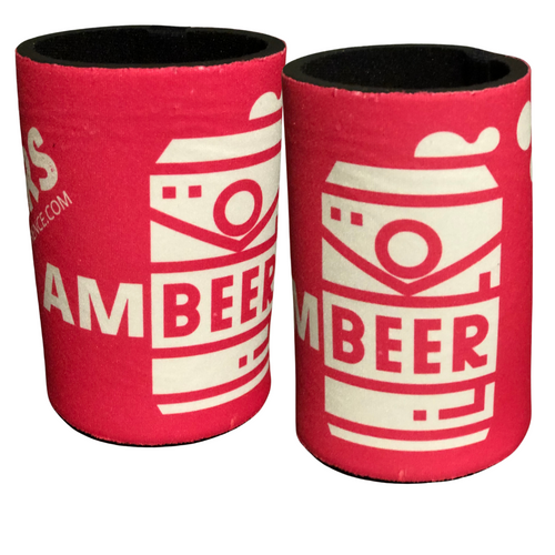 Pink 'AMBEER' Stubby Coolers - Limited Edition