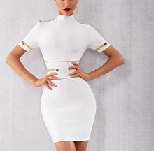 Load image into Gallery viewer, White Bandage Dress