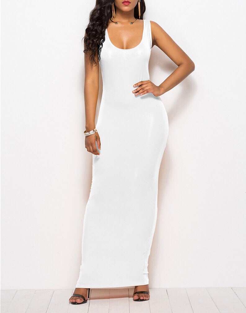 Basic Maxi Pencil dress
