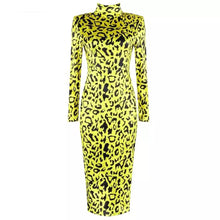 Load image into Gallery viewer, Gochi Leopard Dress
