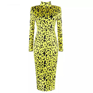 Gochi Leopard Dress