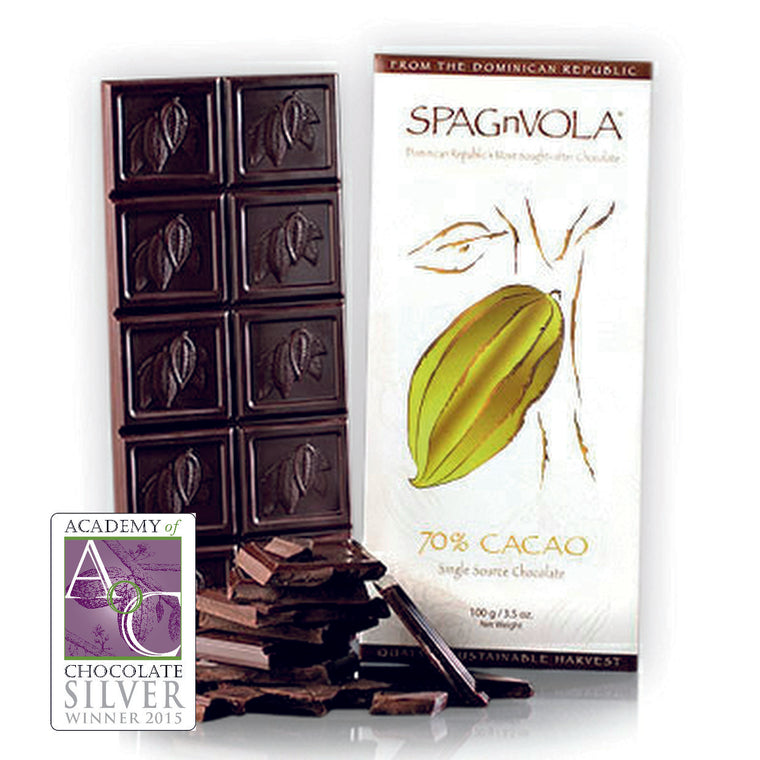 Award Winning - Dominican - 70% Dark Chocolate