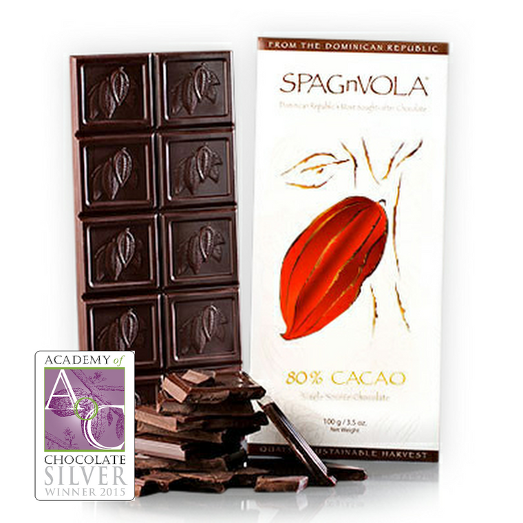 Award Winning Dominican - 80% Dark Chocolate