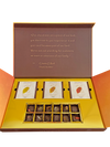 Luxury Gift Box : 12pc. Truffles with 3 Single-Estate Chocolate Bars
