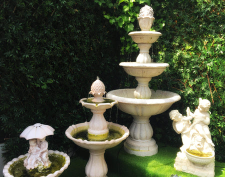 Maintenance tips for garden fountains and water features