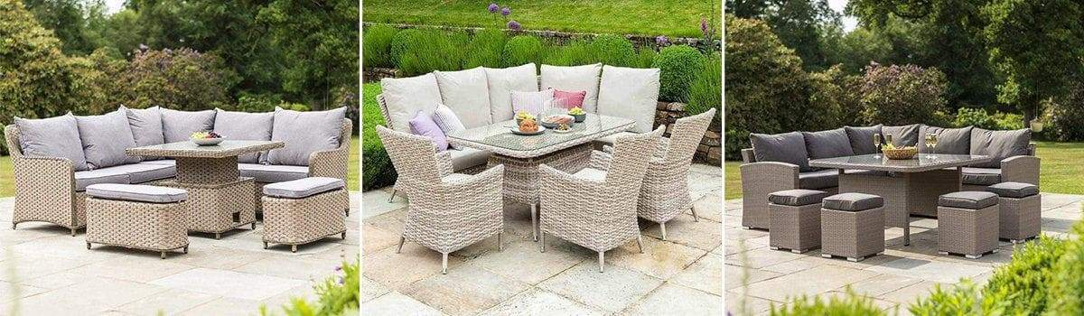 Corner Outdoor Dining Furniture