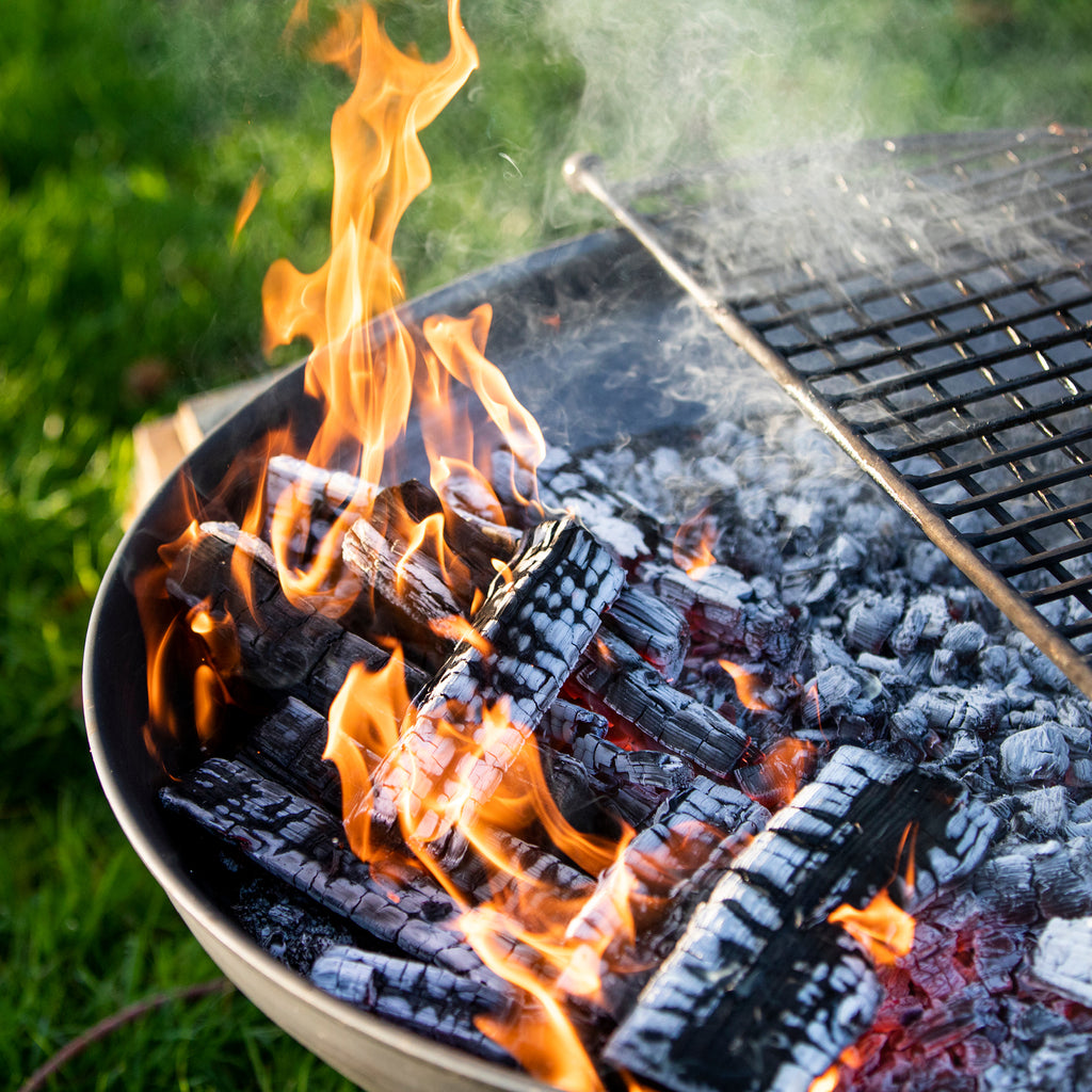 Cooking on Firepit