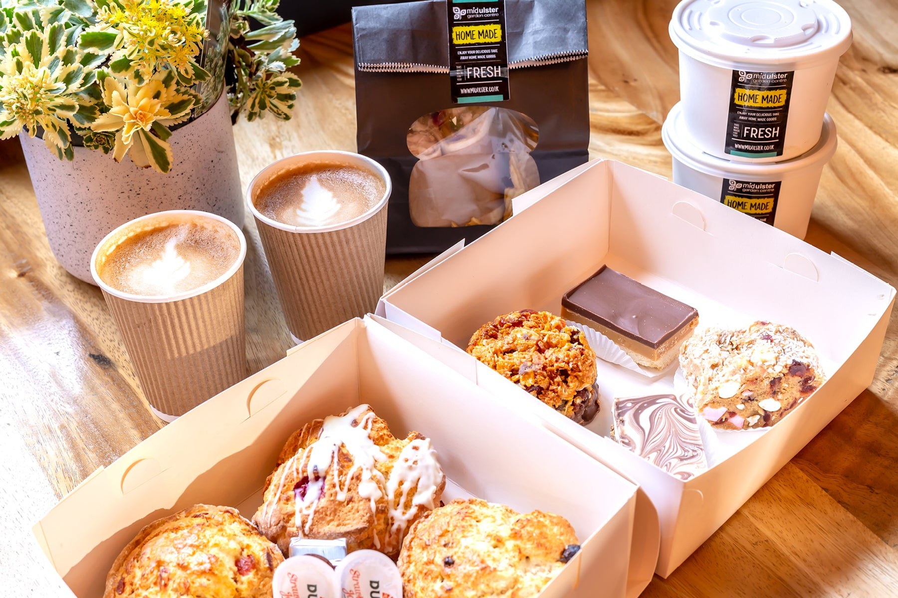Mid Ulster Garden Centre Coffee Shop Take Away