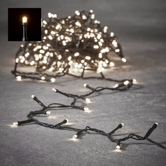 Edelman Christmas lighting Luca Lighting Classic White Light String (480 Light)