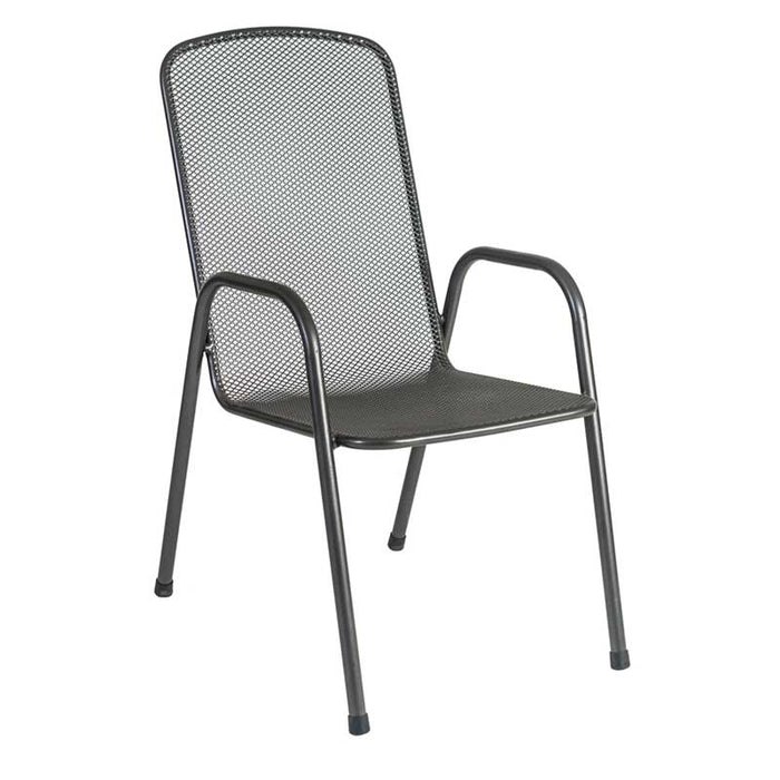 Alexander Rose Garden Furniture Alexander Rose Portofino Highback Stacking Armchair