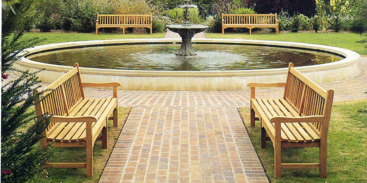 Barlow Tyrie Glenham Teak Bench (different sizes available) - Mid Ulster Garden Centre, Ireland