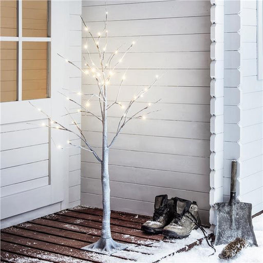 Lumineo - 125cm Deco Chalky Tree with 48 LEDs  (Indoor or Outdoor) - Mid Ulster Garden Centre, Ireland