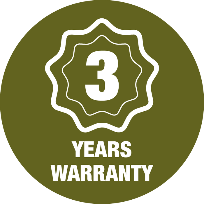 3 Year Warranty Guarantee