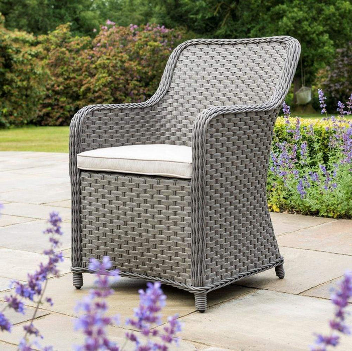 Alexander Rose Bespoke Grand 2 Seat Bistro Set (Grey) - Mid Ulster Garden Centre Northern Ireland