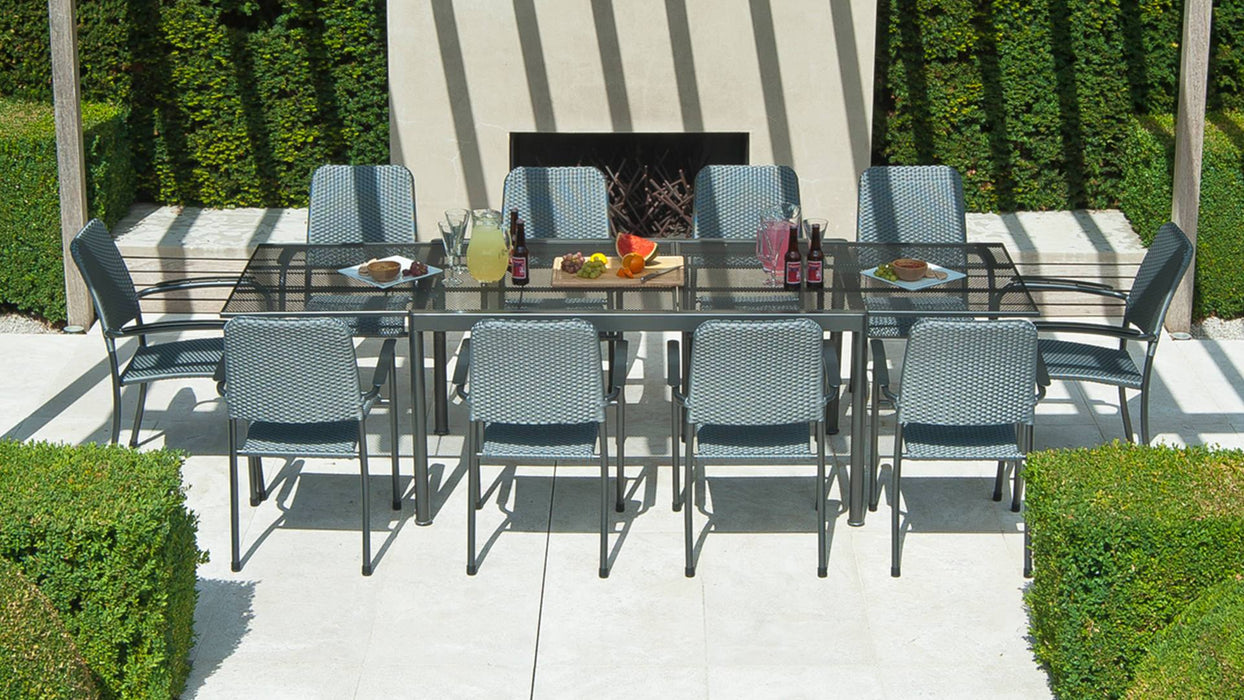 Alexander Rose Garden Furniture Alexander Rose Portofino 8-seater Extending Table Set