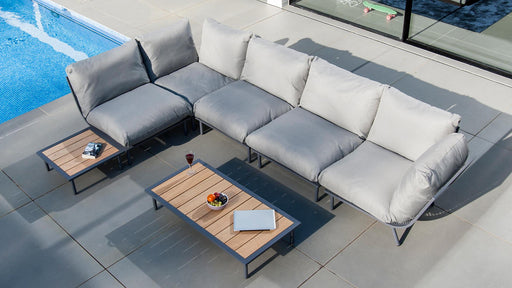 Alexander Rose Beach Lounge 4-seater sofa and coffee tables set - Mid Ulster Garden Centre, Ireland