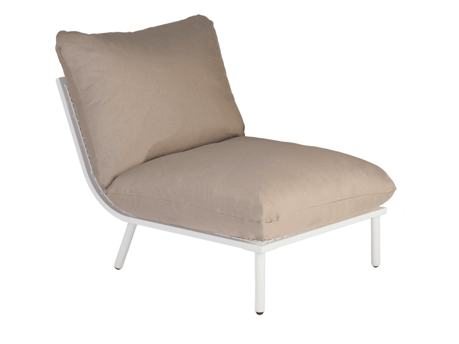 Alexander Rose Garden Furniture Alexander Rose Beach Lounge 3-Seater Lounger and Long Table Set