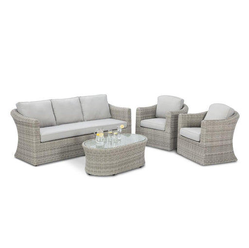 Maze Rattan Oxford 3 Sofa Set, Mid Ulster Garden Centre, Ireland