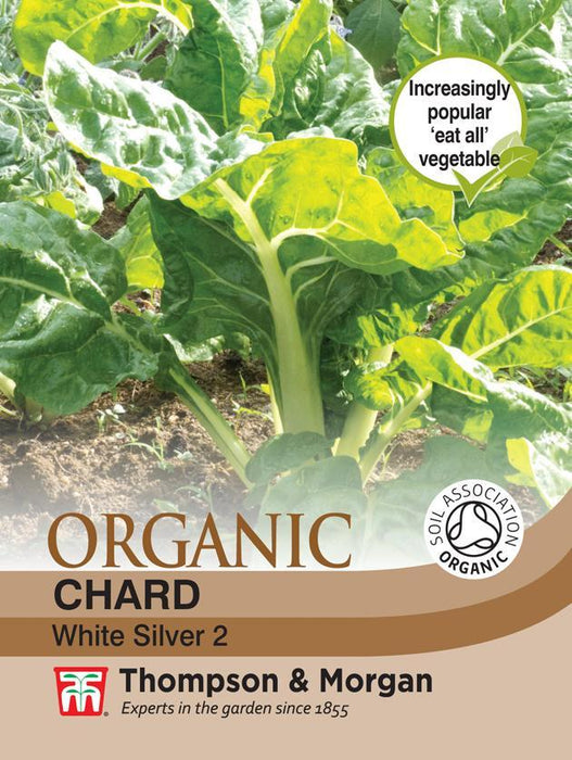 Thompson & Morgan (Uk) Ltd Gardening Chard White Silver 2 (Organic)