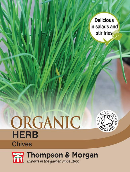 Thompson & Morgan (Uk) Ltd Gardening Herb Chives (Organic)