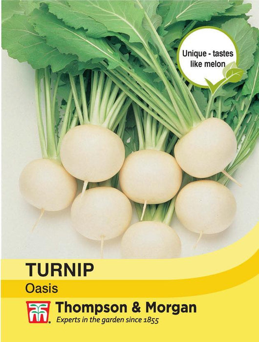 Thompson & Morgan (Uk) Ltd Gardening Turnip Oasis
